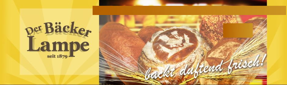 Header Bäckerei Lampe